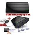 Vinsic Power Bank 20000 мАч Железа P6 Powerbank Внешняя батарея 5 В 2.4A 2 USB Порта для iPhone 5 Заряда 900% Универсальный На Складе