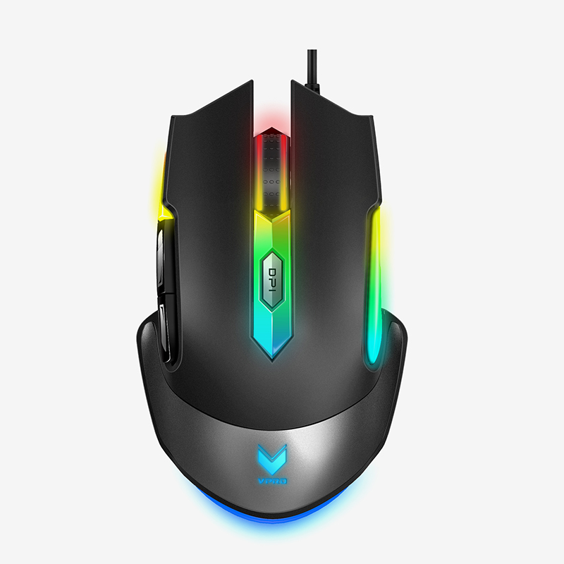 16addb9ff30 RAPOO V302 Optical Gaming Mouse USB Wired Mouse from 500-7000DPI  Multi-color mouse gamer for pubg for overwatch