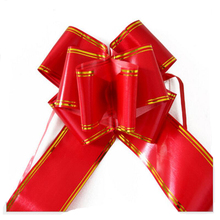 25PCS 7*130cm Large Pull Bows Flower Ribbon for Wrapping Gift  Wedding Car Christmas Birthday Party Decoration
