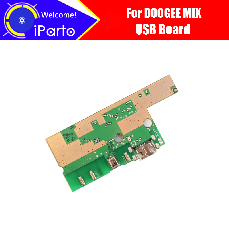 5.5 Inch DOOGEE Mix Usb Board  100% Original New For Usb Plug Charge Board Replacement Accessories For Mix Phone.