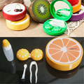 Portable Fruit Style Soak Storage Contact Lens Case Pocket Contact Lenses Box
