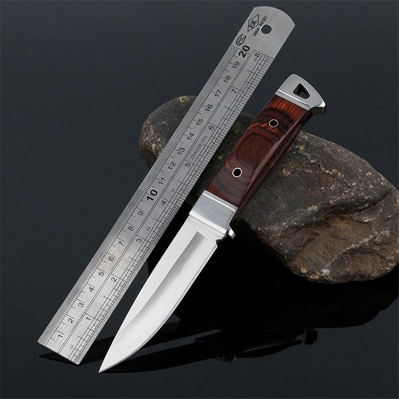 Stahl Fixed Blade Messer Jagd Überleben Camping Im Freien Messer EDC Werkzeuge Faca Couteau CS Messer Herramientas Zakmes Outillage