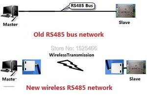 Image 4 - 2x433 mhz משדר האלחוטי UART RS485 UART 1 km למרחקים ארוכים מודול RF תמסורת נתוני יציאה טורית לוח עבור PTZ Modbus PLC