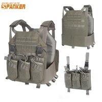 EXCELLENT ELITE Outdoor Hunting Vests Tactical Plate Vest+AK 47 Triple Ammo Clips Military Vest Tactical Military Vests