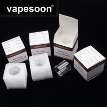 Original VapeSoon 5pcs/lot  Replacement Glass Tube For Eleaf MELO 4 D25  4.5ML Atomizer Retail Package