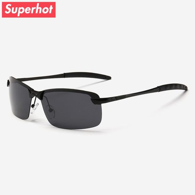 6a9e01591df3 Superhot Eyewear - Polarized Men s Sunglasses Driving Goggles Brand  Designer Sun glasses Male Black Shades UV400 SP3043