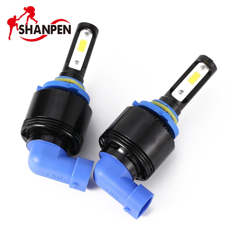 2Pcs 9005/9006 8000LM 72W Car LED Headlight 6500K White High Power Low Beam Headlamp Light Bulbs Auto Light-emitting Diode Lamp newest h4 led car headlight h1 h8 hig led light 9005 9006car led headlight bulb auto headlamp lamp high low beam white lighting