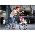 16 inch air wheel bicycle stroller,fashion switch baby trolley christmas gift multi function bicycle