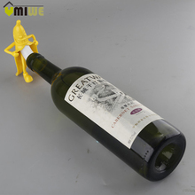 Funny Mr Banana Wine Stopper Wine Cork Bottle Plug Soda Wine Bottle Novelty Stopper Corkscrews Barware Bar Tools Cute Gift