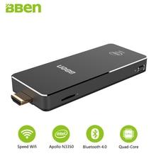 Bben MN10 mini pc Win 10 dual band wifi pc 3GB RAM 64GB EMMC ROM Intel Apollo Lake Celeron N3350 bluetooth Fan cooling