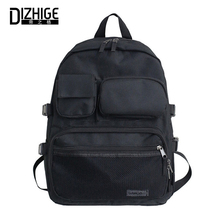 DIZHIGE Brand Luxury Oxford Women Backpack Fashion Large Capacity Unisex Zipper Travel Bag High Quality School Bags For Men New