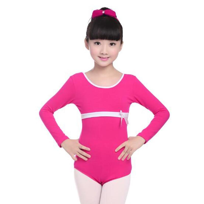 c0e53388062b 4 Colors Girls Ballet Dance Gymnastics Leotard Comfortable Children ...