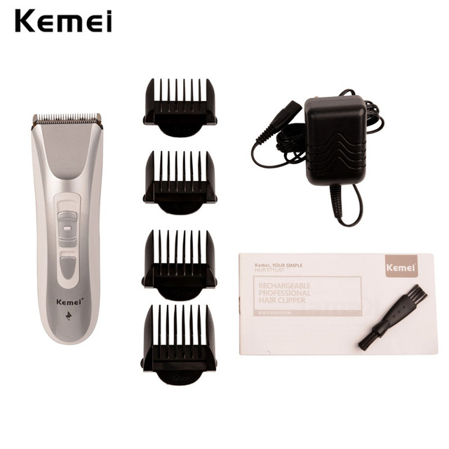 Professional low noise Electric Hair Clippers Rechargeable Men's Hair Trimmer Cutting Machine Barber 3/6/9/12mm Limit Comb S5050