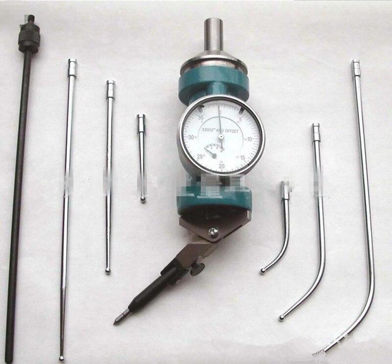 Center Levier Compteur Positionnement Gauge 0-3mm Center indicateur Précision 0.01mm Cadran Indicateurs Center levier instruments outils