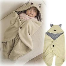 baby parisarc blanket Infant hoodie Swaddle Swaddling sleeping bag cart stroller sack Newborn envelop autumn winter Sleepsacks