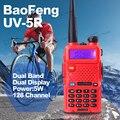 Горячий Портативный Радио Baofeng УФ 5R Красный Walkie Talkie 5 Вт укв dual band 136-174 400-520 МГЦ baofeng двухстороннее радио