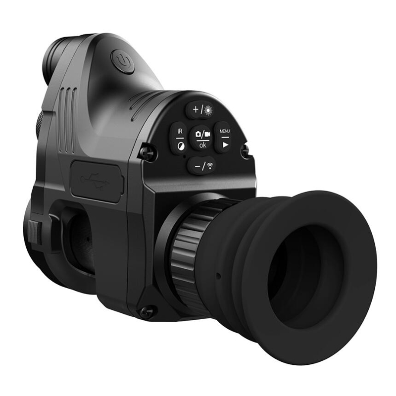 PARD night vision riflescope sight aiming modified infrared night vision  Quick disassembly day and night use IR Monocular NV007|Hunting Cameras| |  - title=