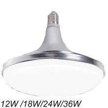 E27 LED Bulbs 220V Corn Lamps 12W 18W 24W 36W  Aluminum SMD 2835  Spotlights UFO 180 Degree Energy Saving Lighting
