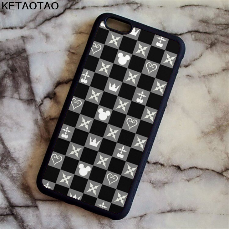 KETAOTAO new style Kingdom Hearts pattern Phone Cases for iPhone 4S 5S 6 6S 7 8