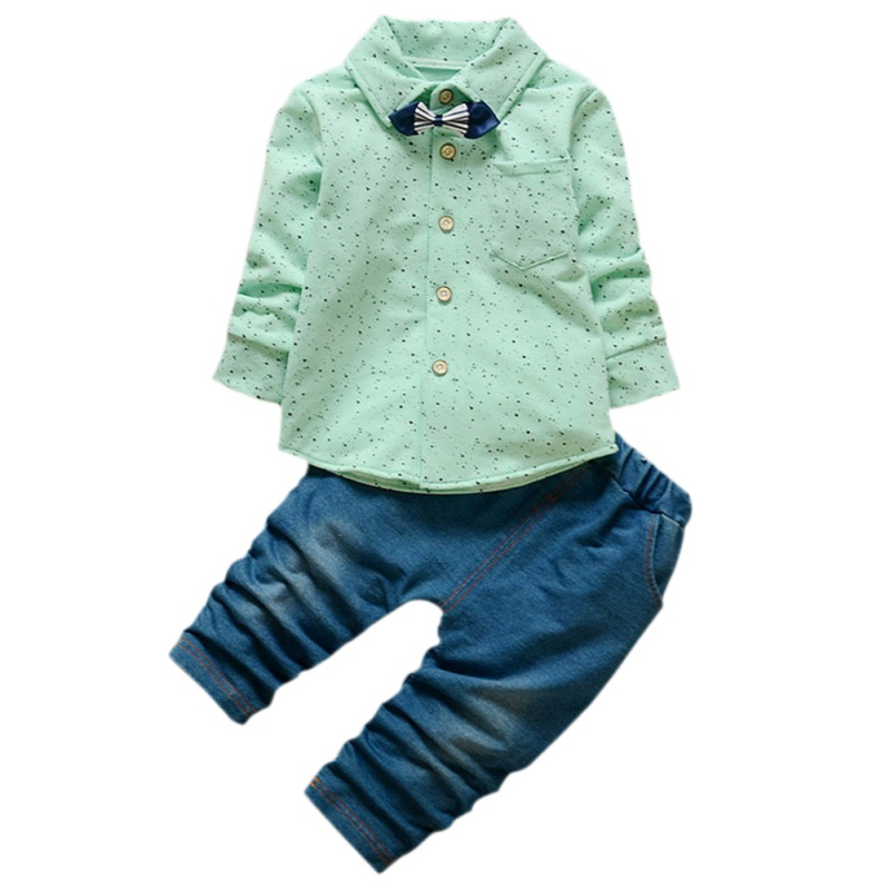 2017 Fashion Baby Boys Clothing Set Cute Boys Tracksuit Coat+Jeans Clothes Suit kids Boys Clothing Outfits ...