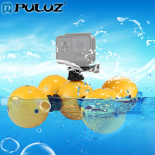 лучшая цена PULUZ 5pcs Diving Floaty Bobber Ball Kits For GoPro Hero5/6 Safety Wrist Strap Floaty Ball Set For Go Pro