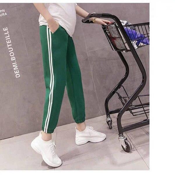 Side Stripe Green