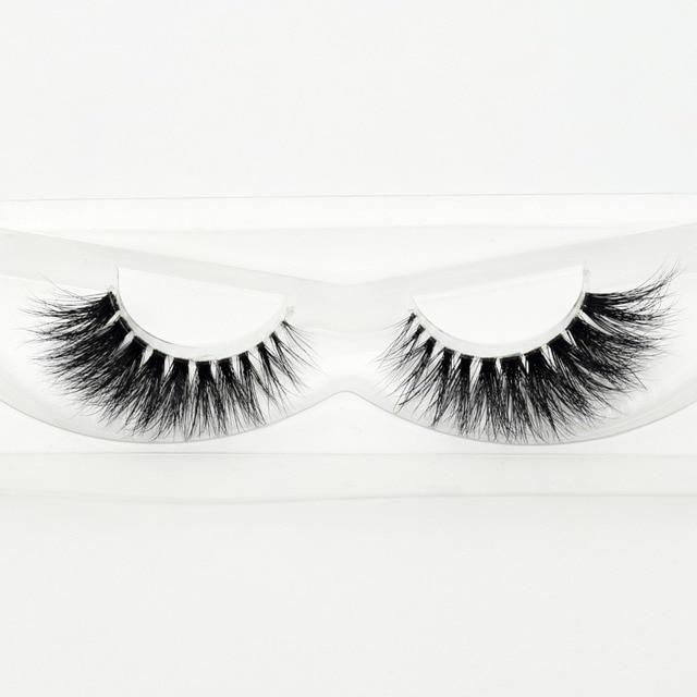 Visofree Mink Eyelashes Invisible Band Lashes Natural 3D Mink False Eyelash Full Strip Transparent band lashes cilios posticos 2