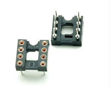 10pcs DIP-8 DIP8 Round Pins IC Chip SOCKET PANEL PCB MOUNT ADAPTER SWAPPING