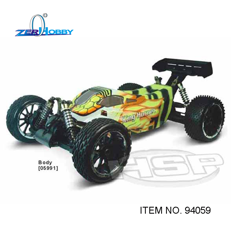 RC CAR HSP RACING King Hornet 94059 1/5 electric brushless 4x4 off road buggy ready to run dual batteries hsp racing rc car troian pro 94185top 1 16 scale 4wd off road electric powered brushless buggy car ready to run