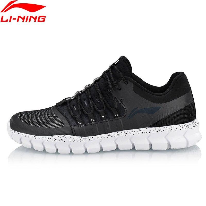 Li-Ning Для мужчин 24 H Смарт быстрое обучение обувь дышащая комфорт внутри носимых спортивная обувь анти-скользкие кроссовки AFHN019 YXX024