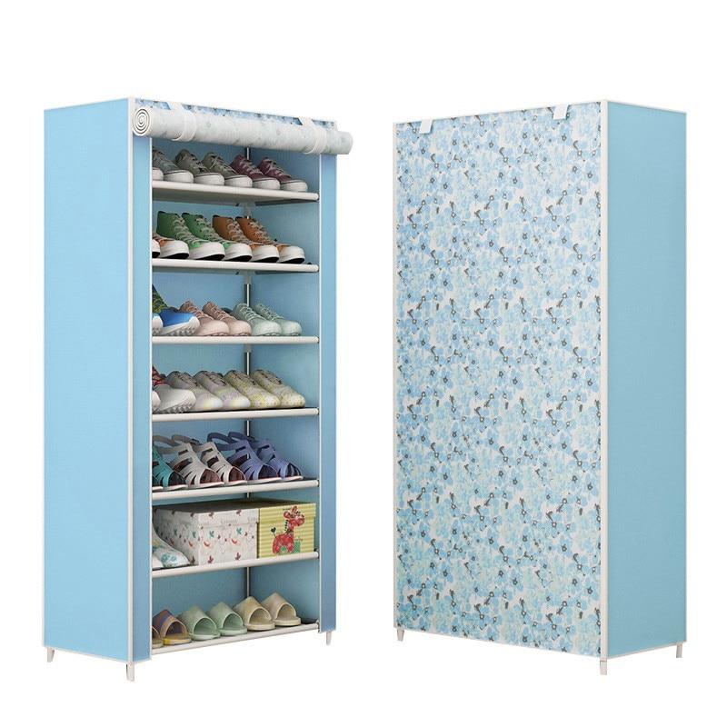 12pcs Shoe Racks Durable Plastic Modern Double Cleaning Storage Shoes Rack Living Room Convenient Shoebox Shoes Organizer Stand