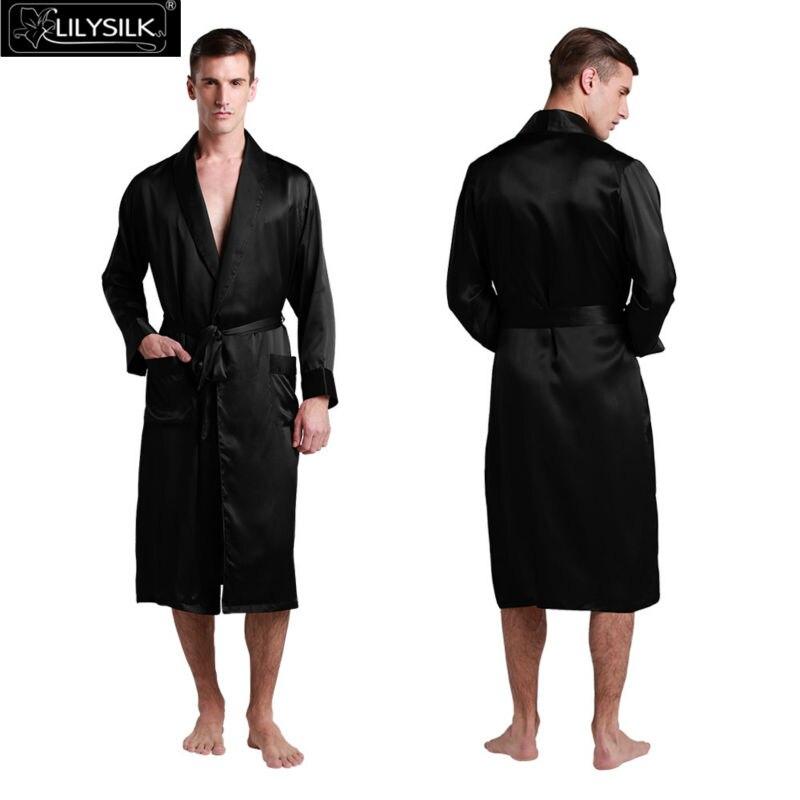 1000-black-22-momme-black-collar-silk-dressing-gown