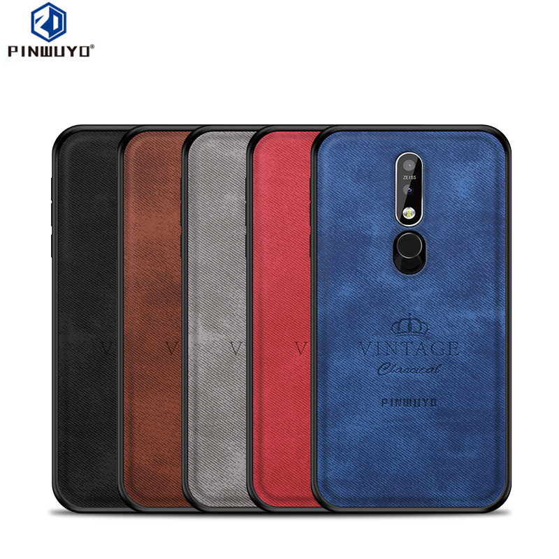 PINWUYO Phone Case for Nokia 7 1 2018 Cover for Nokia 7 1 Back Cover 5