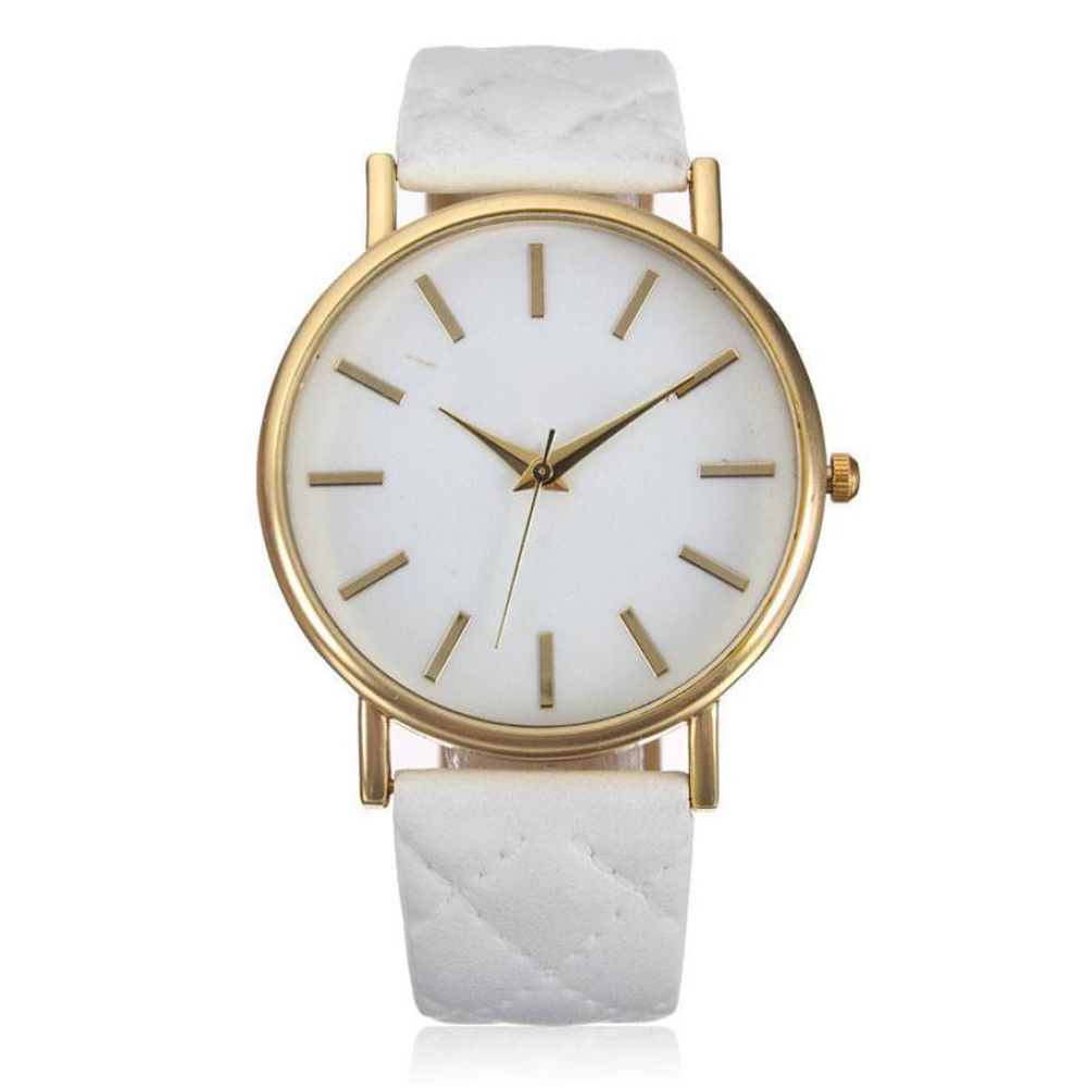 Cheap Watches Women Fashion Geneva Roman Quartz Watch Women Unisex Mens PU Leather Strap Analog Wrist Watch Relogio Feminino #JO  brand new women watches luxury design quartz watch women unisex mens leather business wrist watches relogio feminino reloj jo