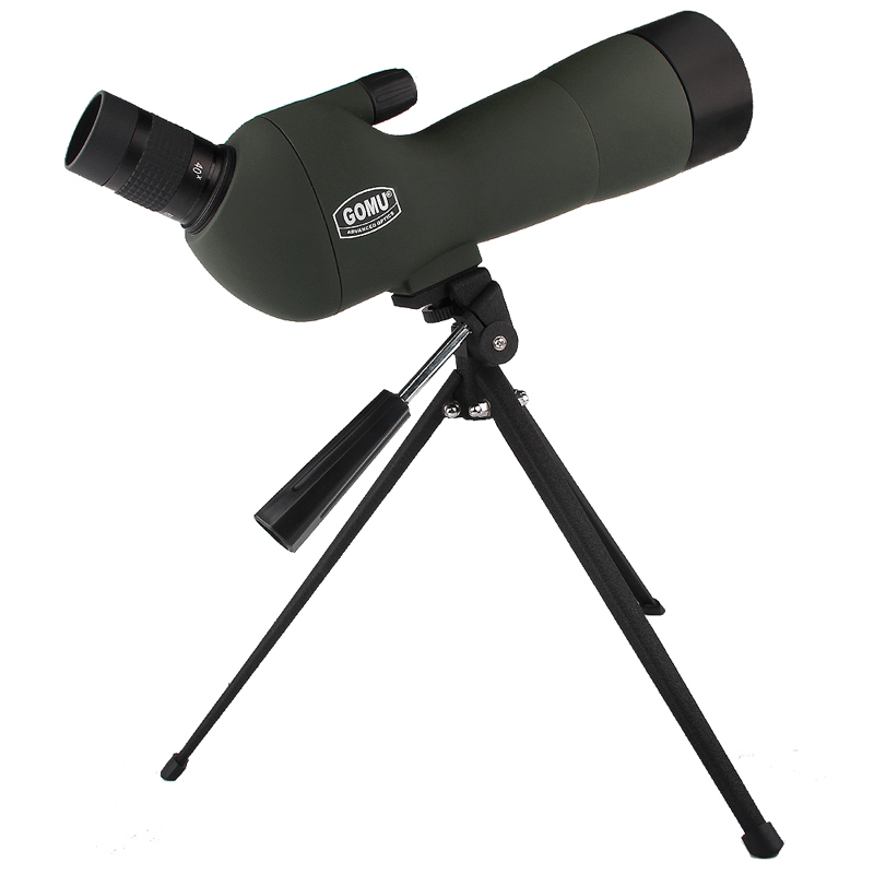 20-60x60  Monocular Telescope HD Outdoor Spotting Scope Zoom with Angled Eyepiece Low Light Night Vision Scope HT38-0008 16x52 telescope high power hd night vision telescope eyepiece