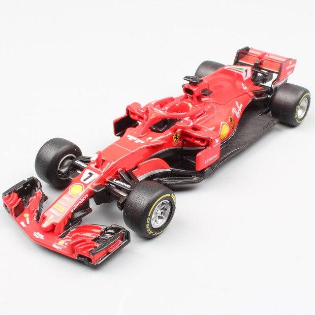 43 H F1 N° 7 Kimi Modelo Sf16 1 Escala Uno Sf71h Raikkonen Coche Fórmula Vehículos Diecasts Mini Y Juguete Famoso De Sf70h 2017 2018 rdtshQ