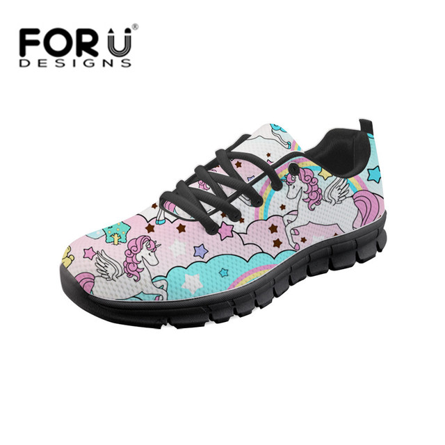 46089cf5459 FORUDESIGNS-Woman-s-Casual-Vulcanized-Shoes-Kawaii-Rainbow-Unicorn-Sneakers -For-Female-Zapatos-Vulcanizados-Femeninos-Mesh.jpg_640x640.jpg
