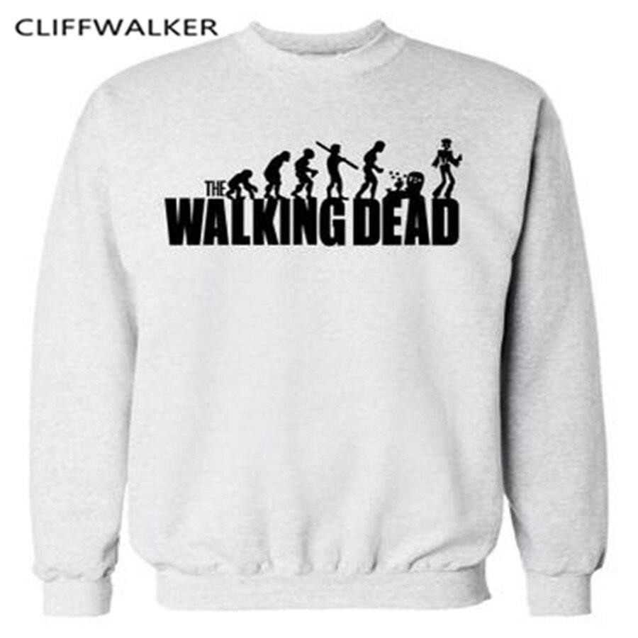 Zombie Hoodie TV series The Walking Dead Logo Sweatshirt