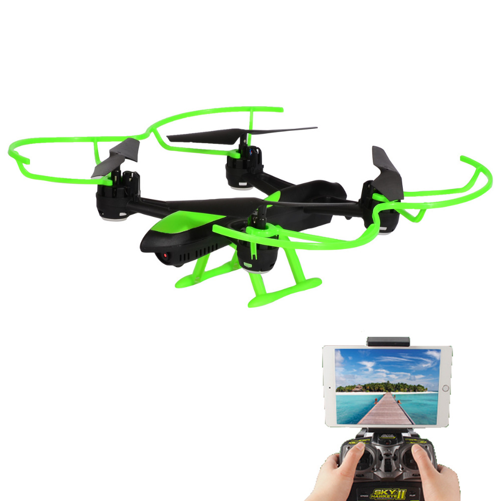HELICMax 1331W RC Airplane Drone Wifi FPV With 720P HD Camera Auto Hover, Headless Mode, One Key Return,Support 3D VR jjr c jjrc h43wh h43 selfie elfie wifi fpv with hd camera altitude hold headless mode foldable arm rc quadcopter drone h37 mini