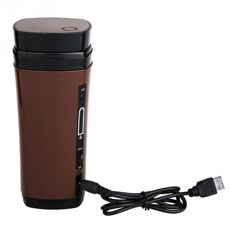 Usb Coffee Cup Rechargeable Ed Mug Warmer Automatic Self Stirring In Mugs From Home