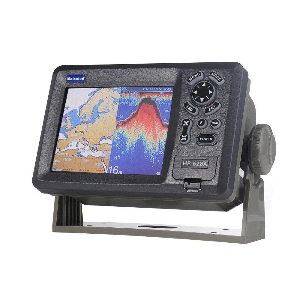 Matsutec HP-628A 5.6 Color LCD Navegador GPS Marine AIS Classe B Transponder Combo de Alta Sensibilidade