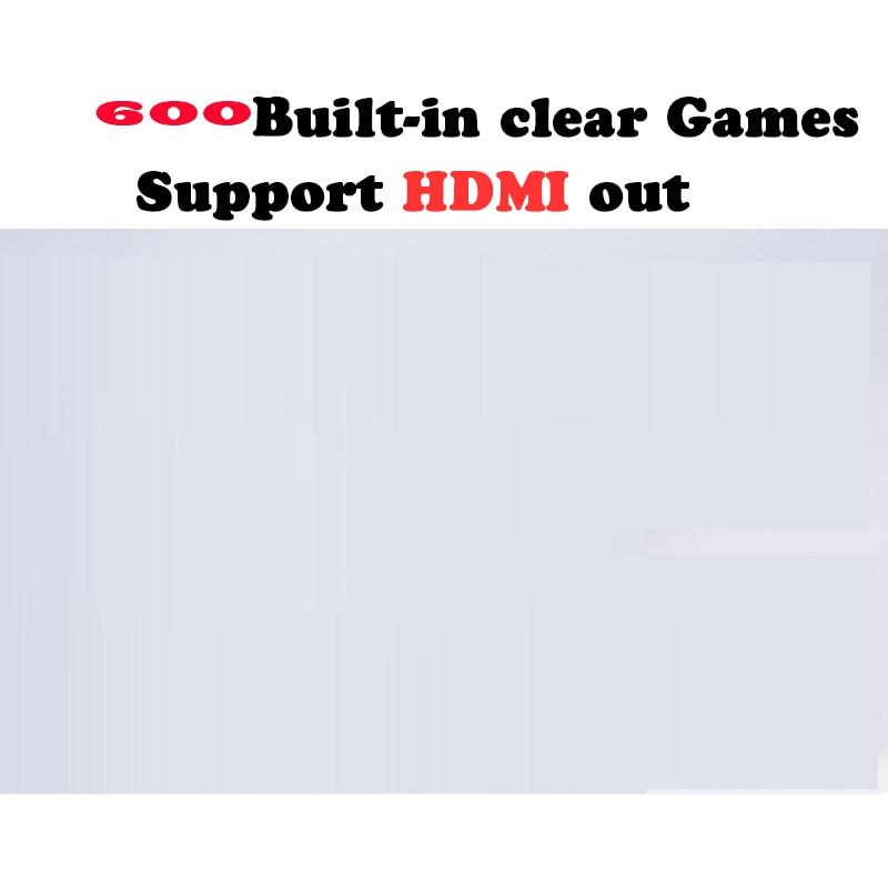 Coolbaby двойной геймпад управления HDMI Семья видео классический Ручные игры встроенный 600 игры мини ТВ игровой консоли