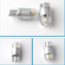 10pcs/lot Car Styling W5W LED T10 3030 2SMD Auto Lamps 168 194 Bulb Plate Light Parking Fog Light Auto Univera Cars Light