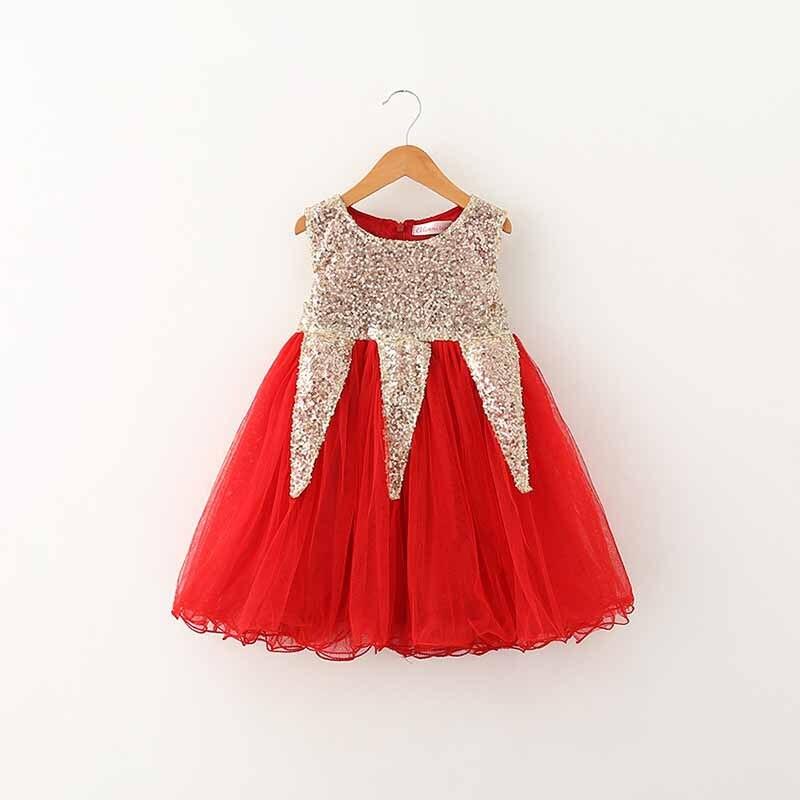 74d90db6421b 2016 New Baby Girls Christmas sweater Dress Costume children warm ...