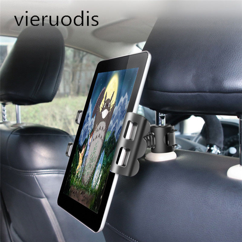 Adjustable Car Tablet Stand Holder For 4-11 Inch Tablet Accessories Universal Tablet Stand Car Seat Back Bracket for IPAD Tablet