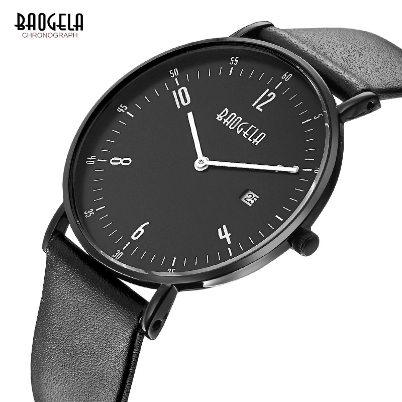 2017 Men Clock Top Brand Men Watches Simple style Fashion Watch Casual Leather Business Male Quartz wrist watch Montre Homme disu top brand 2017 men watches fashion simple quartz wrist watch business leather strap male sport rose gold dial clock ds039