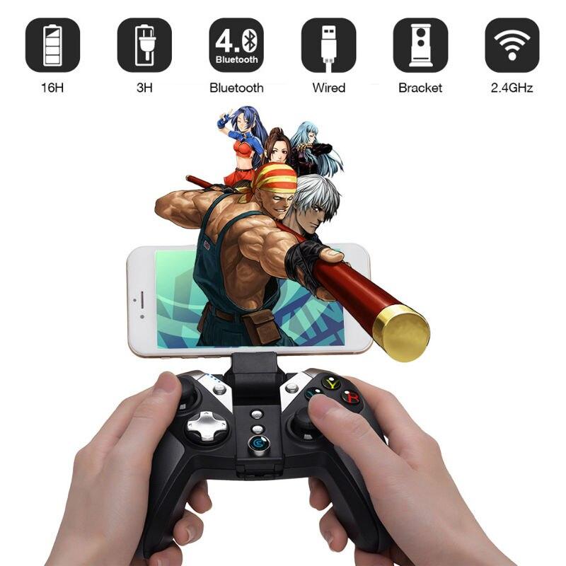 GameSir G4s Gamepad pour PS3 Contrôleur Bluetooth 2.4 ghz Filaire snes nes N64 Joystick PC pour SONY Playstation 3 pour controle PS3 - 5