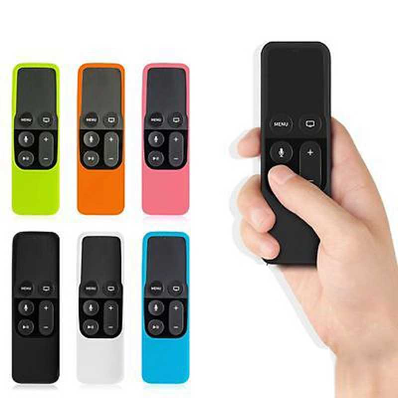 Remote Case For Apple TV 4th Generation TV 4 Remote Case For Siri Remote Silicone Cover For Apple TV4 Remote Control Case