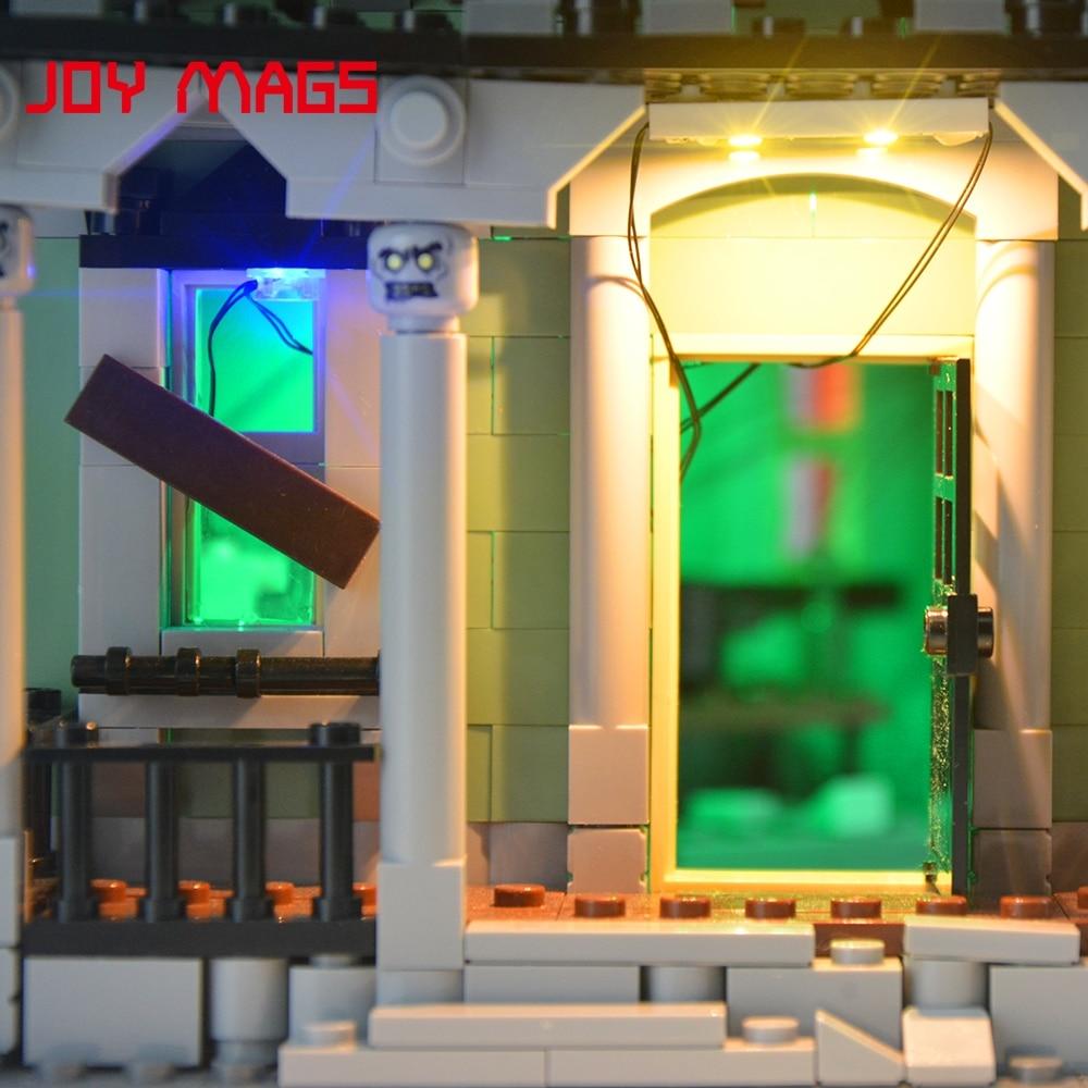 JOY MAGS Meningkatkan Kit Lampu Led Untuk Pencipta 10228 City Monster - Mainan pembinaan - Foto 6