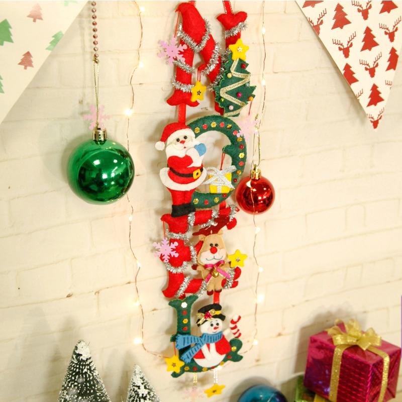 DIY Nähen Weihnachten Partei Ornament Einfach Handgemachte Filz ...